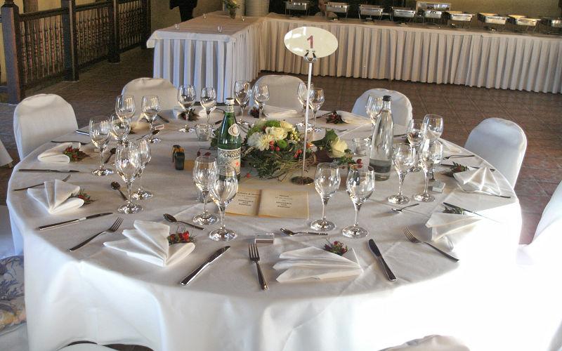 Hochzeitsfeier in der Haldemühle - Caduli Catering