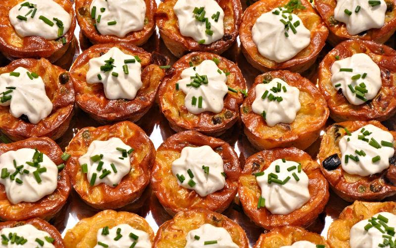 Kartoffel-Gemüse-Tortilla - Caduli Catering